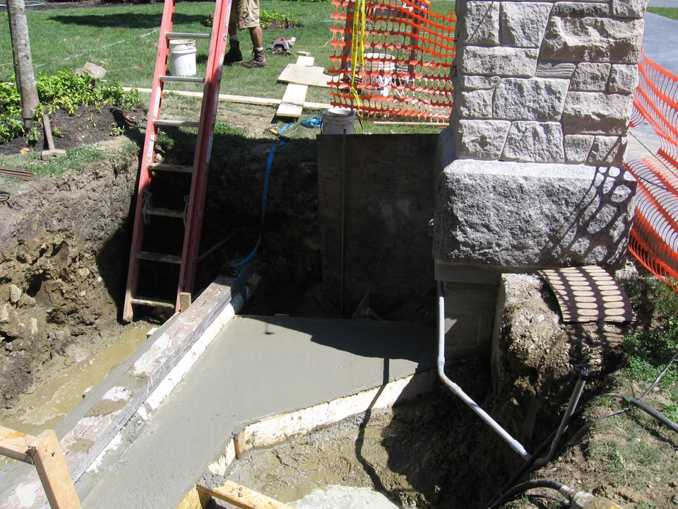 Ready Made Footings : Residential footings footing for large structures like